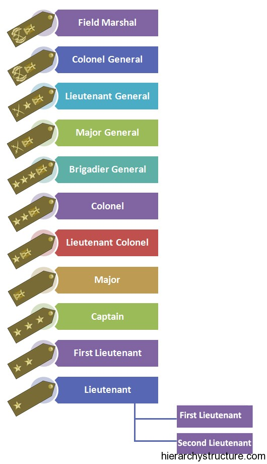 Egyptian Military Hierarchy