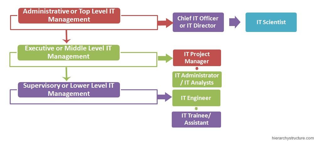 IT Management Hierarchy