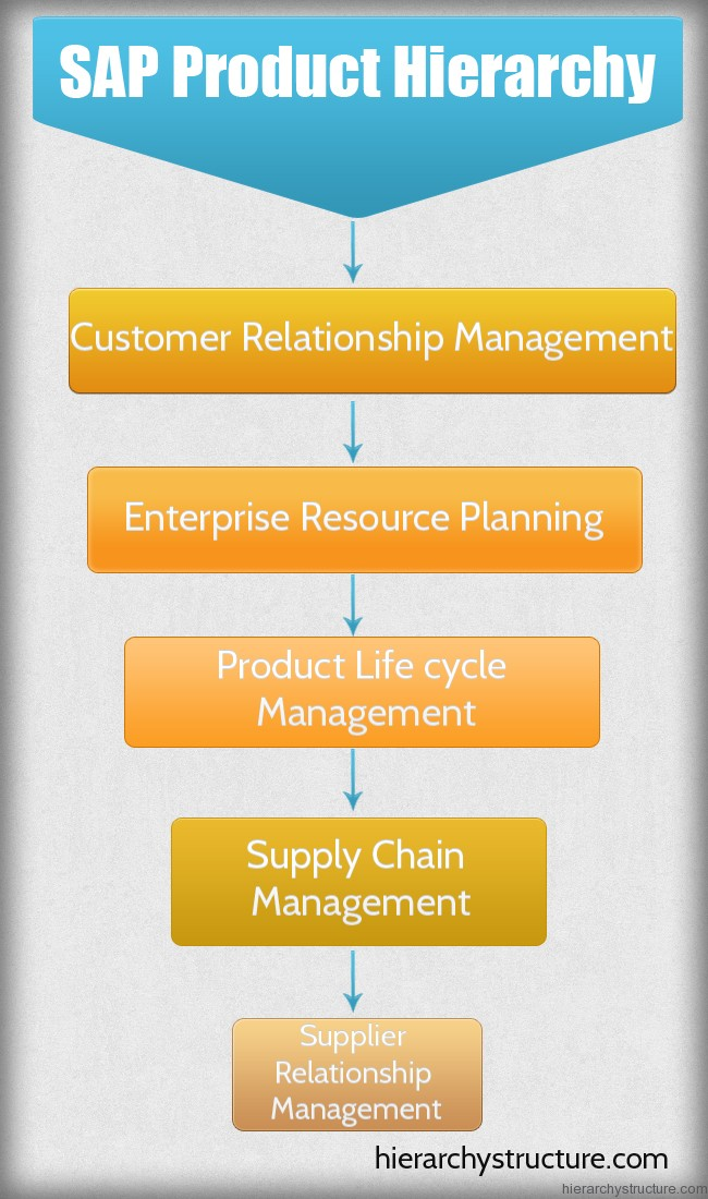 SAP Product Hierarchy