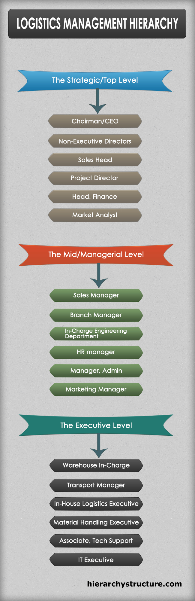 Logistics Management Hierarchy