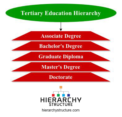 tertiary education hierarchy