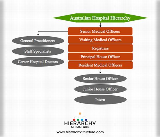Australian hospital hierarchy