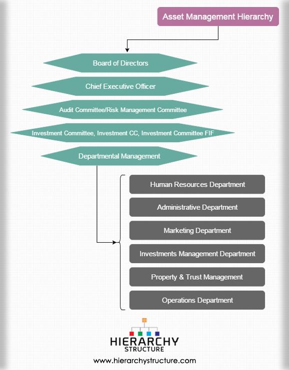 Asset Management Hierarchy