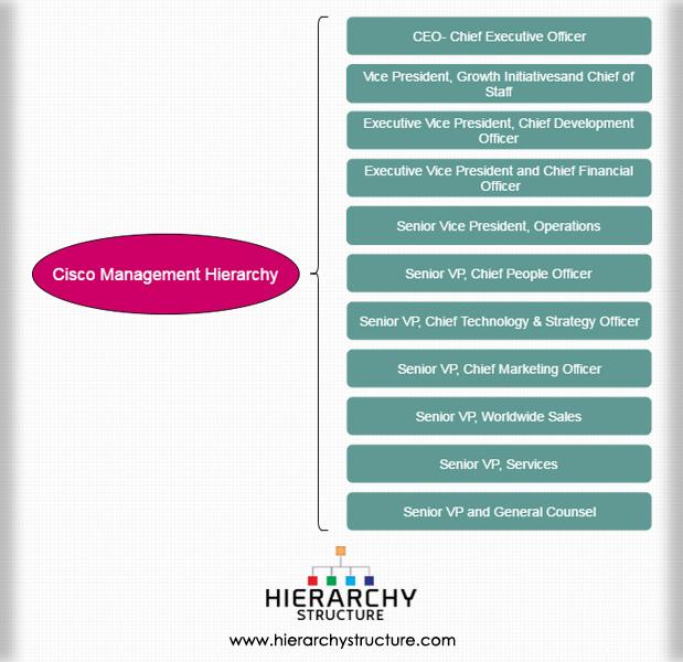 Cisco Management Hierarchy
