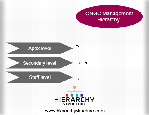 ONGC Management Hierarchy
