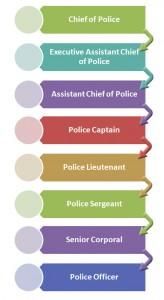 Texas Police Hierarchy