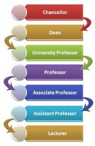 Academic Career Hierarchy