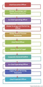 Bank of America Corporate Hierarchy