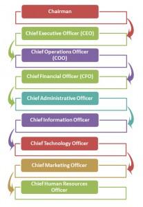 Corporate Rank Hierarchy
