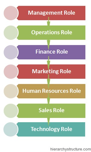 Corporate Roles Hierarchy