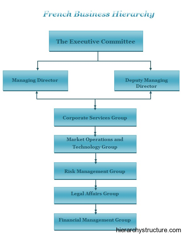 French Business Hierarchy Business Hierarchy