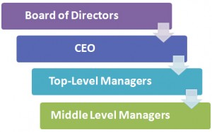 Corporate Development Hierarchy