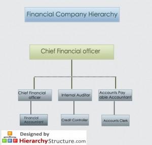 Financial Company Hierarchy