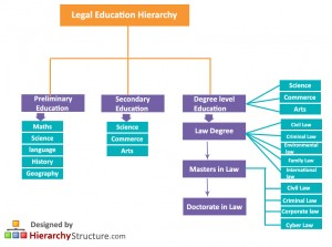 Legal Education Hierarchy