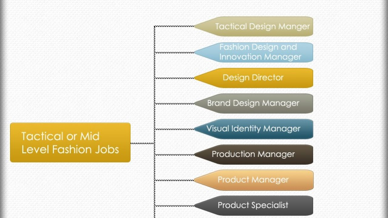 Fashion Jobs Hierarchy Chart Hierarchystructure Com