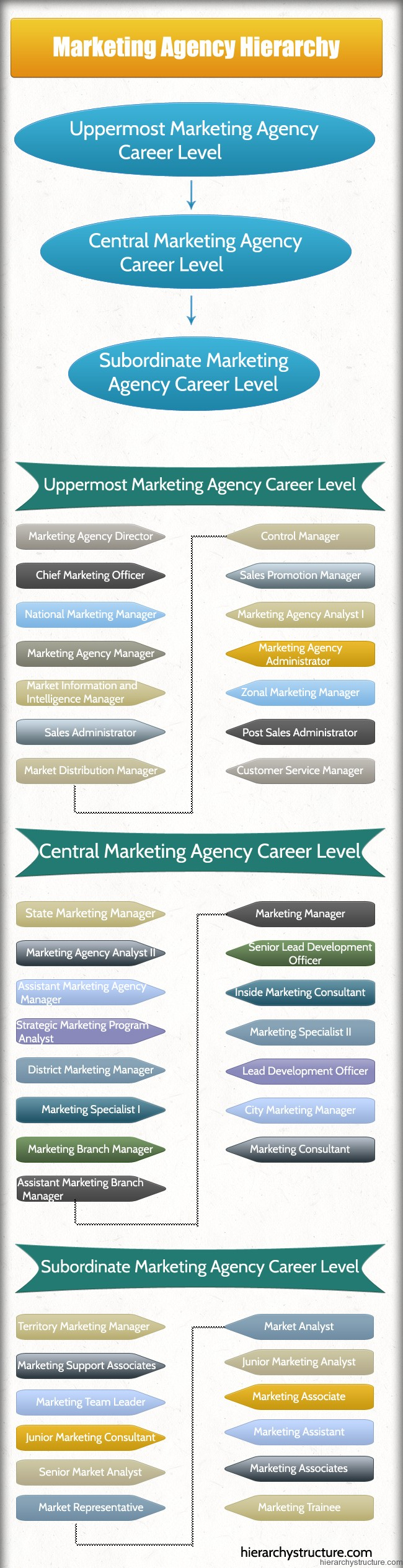 Marketing Agency Hierarchy