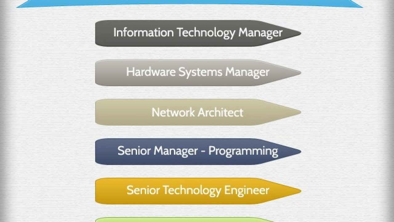 Technology Company Structure Hierarchy Hierarchy Structure
