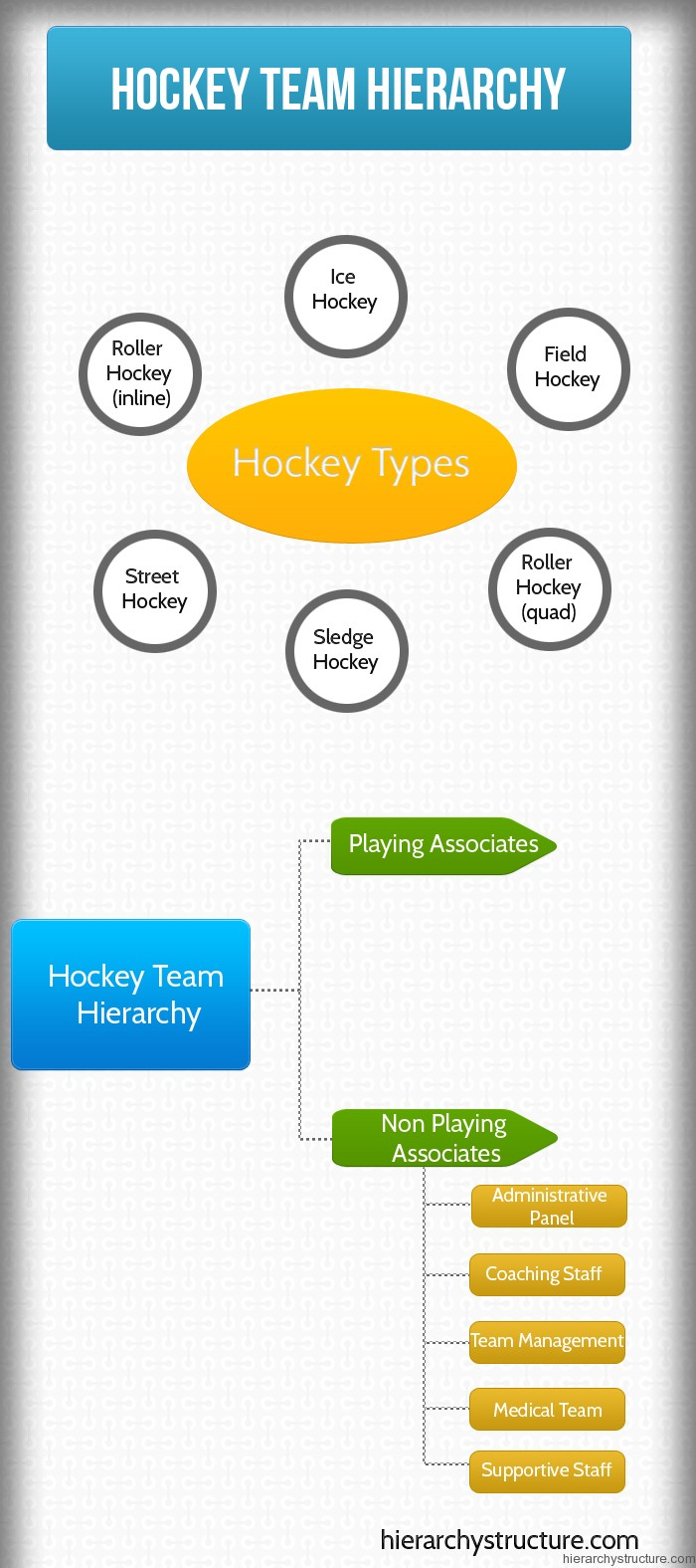Hockey Team Hierarchy