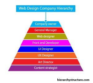 web design company hierarchy