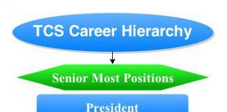 TCS Career hierarchy