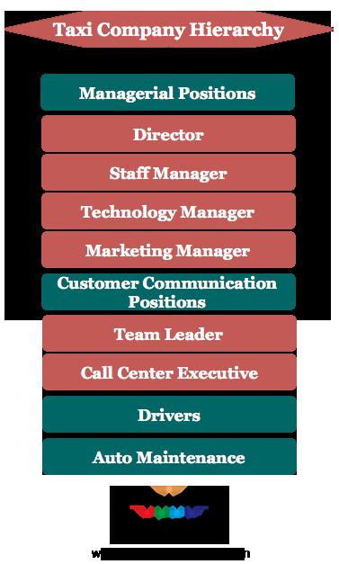 Taxi Company Hierarchy