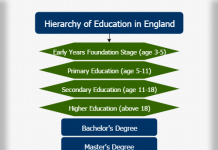 Hierarchy of education in England