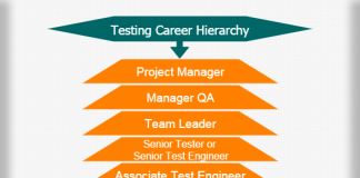 Testing career hierarchy