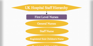 UK Hospital Staff Hierarchy