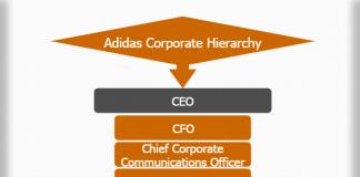 Adidas corporate hierarchy