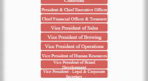 Boston Beer Company Hierarchy