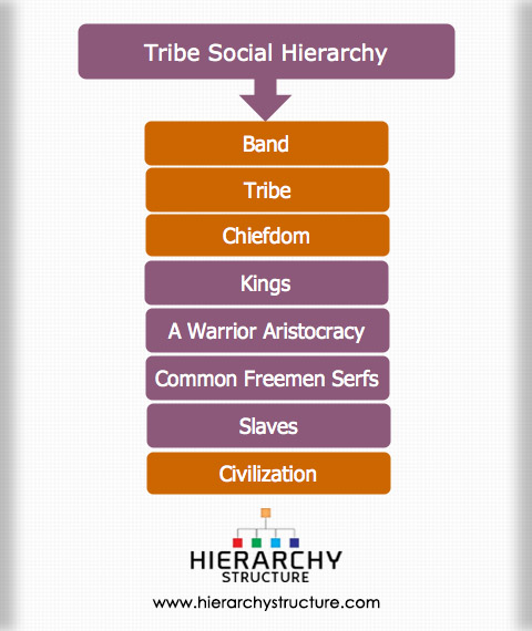 Tribe Social Hierarchy Structure Hierarchystructure Com