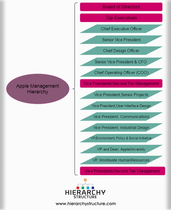 Apple Management Hierarchy (1)