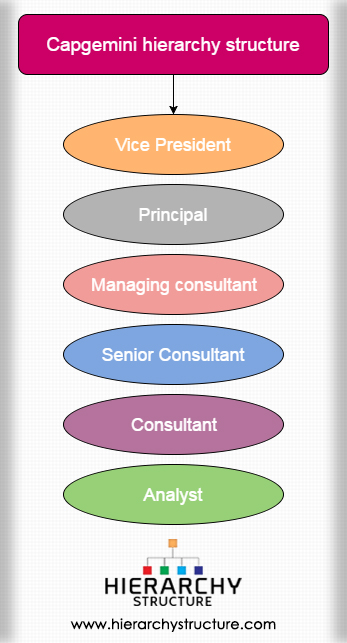 Capgemini hierarchy structure