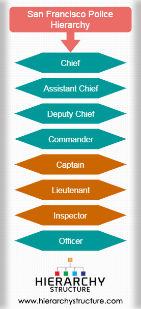 San Francisco Police Hierarchy