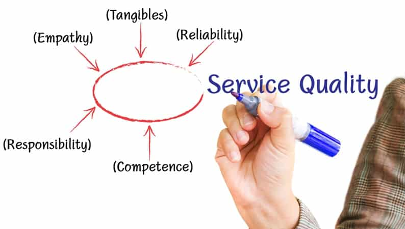A Low-Down On Service Quality Hierarchy
